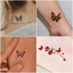 Imagenes con ideas de tatuajes con mariposas