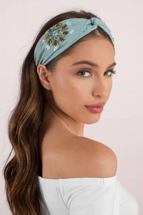 diadema estilo turbante