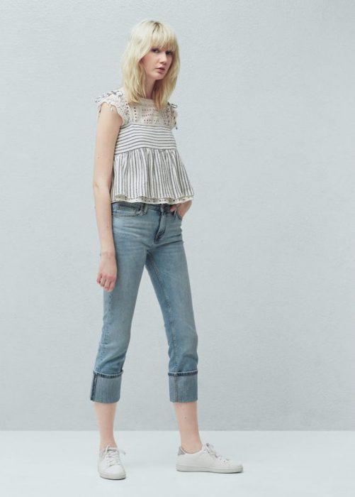 jeans recto casual verano