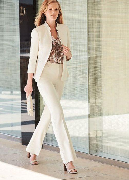 look moderno y formal para senoras