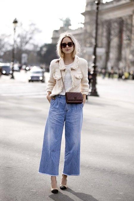look semi formal con pantalon olgado