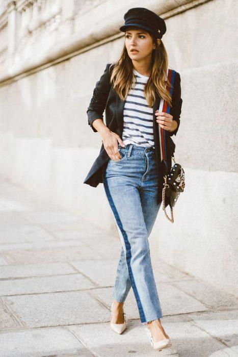 look urbano con jeans