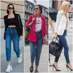 looks con jeans y blazer mujer