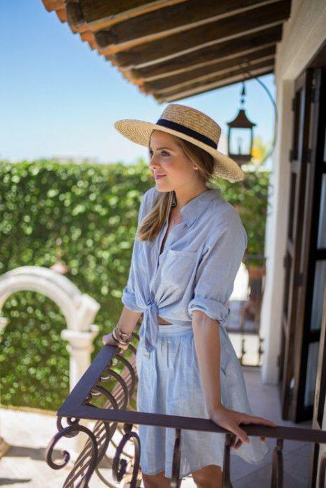 sombrero verano mujer
