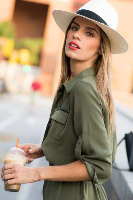 sombreros lindos para el verano mujer