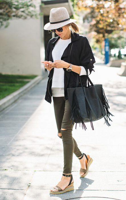 sombreros mujer moda