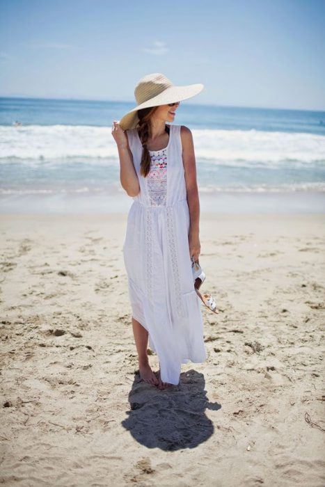sombreros para la playa de moda