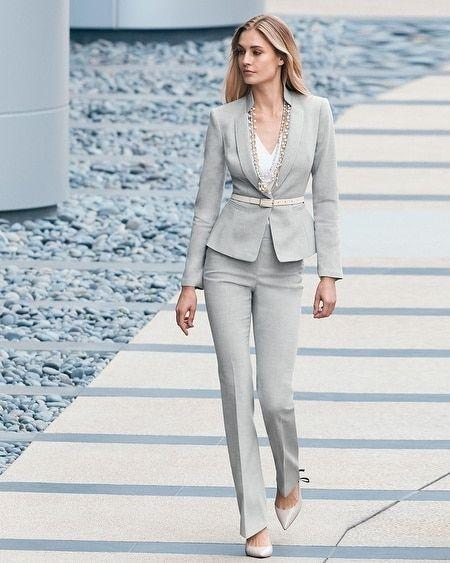 traje forma y moderno para senoras
