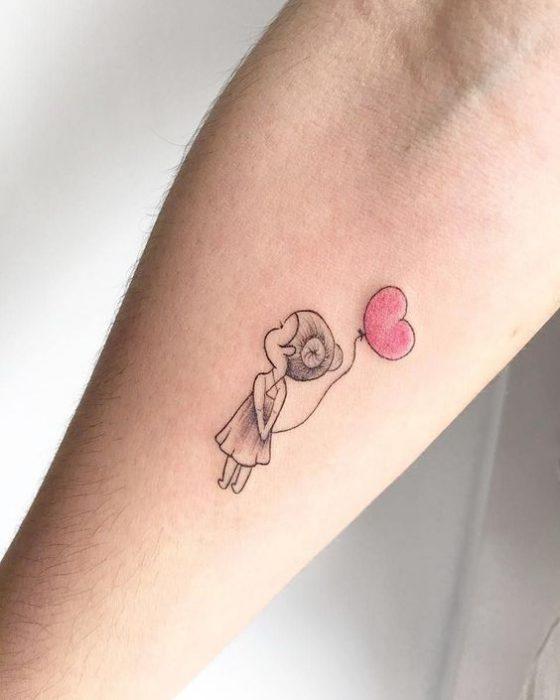 Tatuajes simples para el brazo Mujer Nina