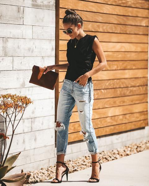 jeans claro verano