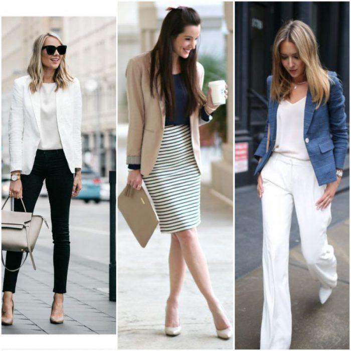 outfit para la oficina en primavera