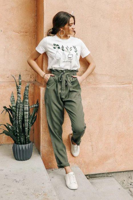 pantalones para la primavera mujer