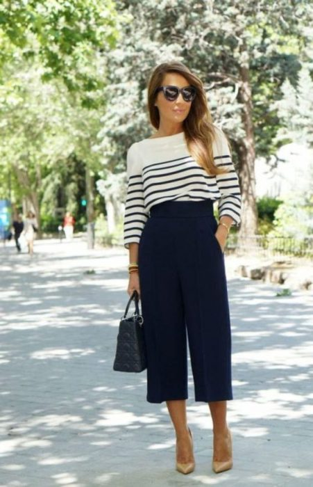 sweater y pantalon de vestir