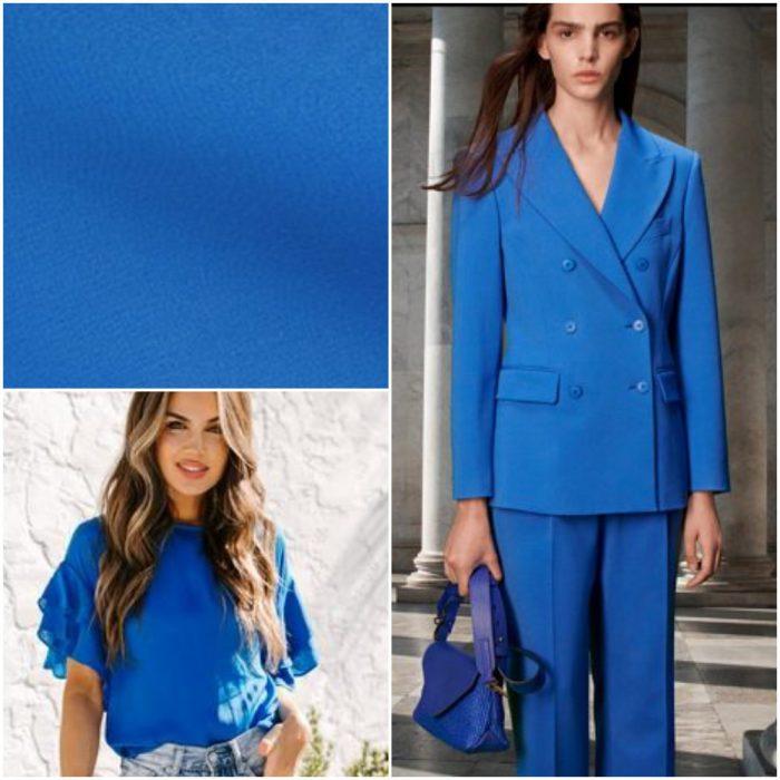 Azul Francia Colores de moda primavera verano 2021