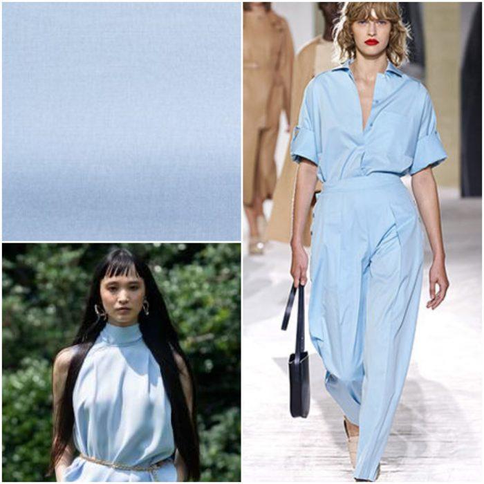 Celeste Colores de moda primavera verano 2021