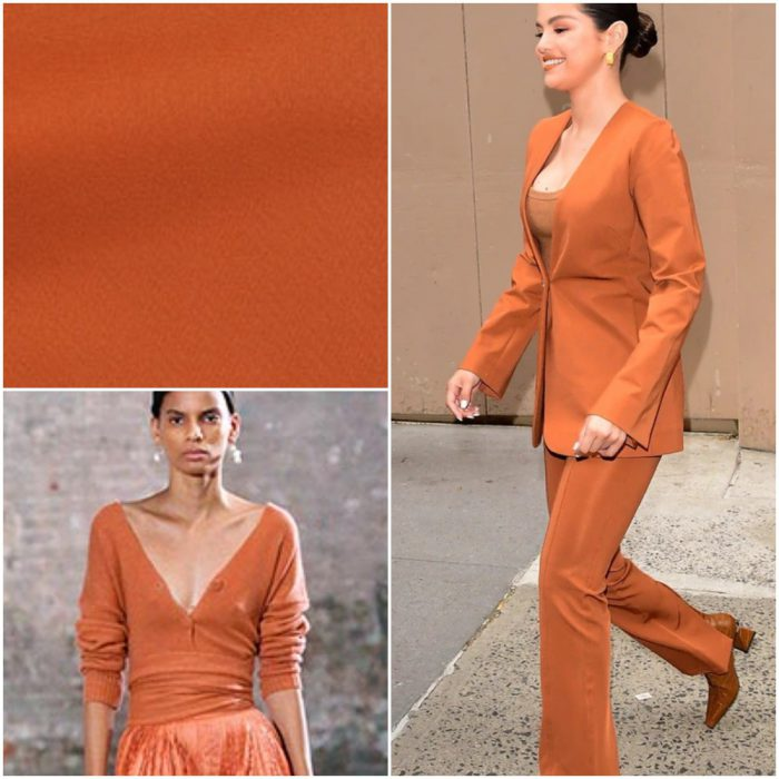 Oxido Naranja Colores de moda verano 2021