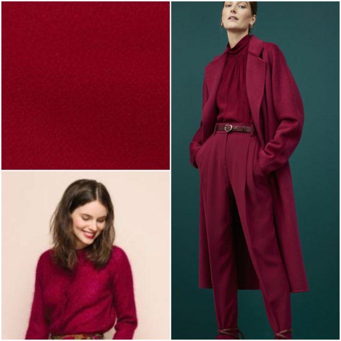 Purpura Colores de moda invierno 2022