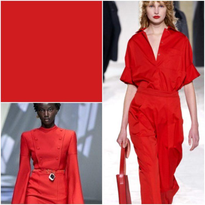 Rojo Cereza Colores de moda verano 2021