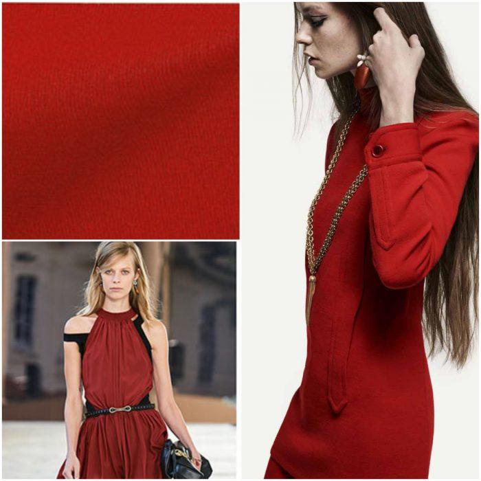 Rojo terroso Colores de moda verano 2021