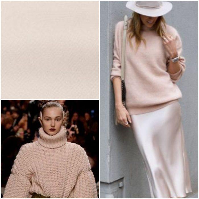 Rosa palido Colores de moda invierno 2022