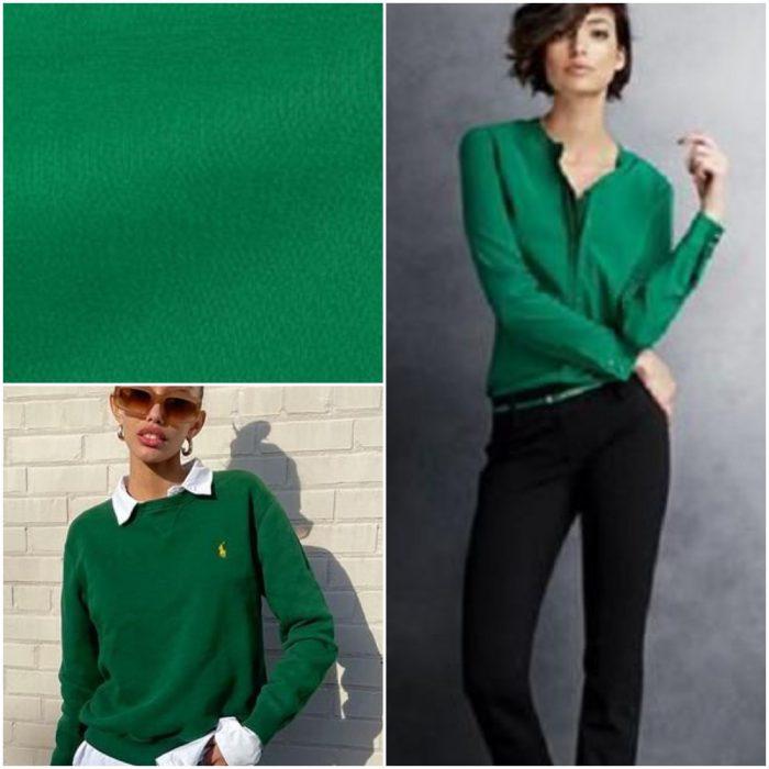 Verde duende Colores de moda invierno 2022