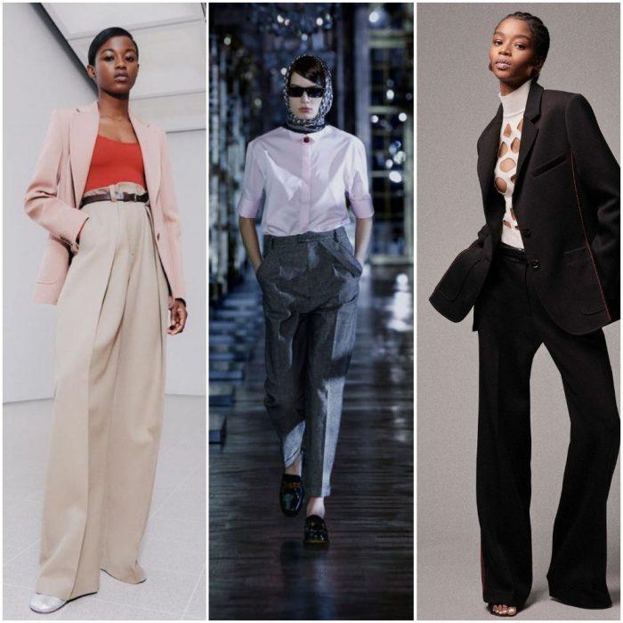 Working girl con pantalones Tendencias invierno 2022