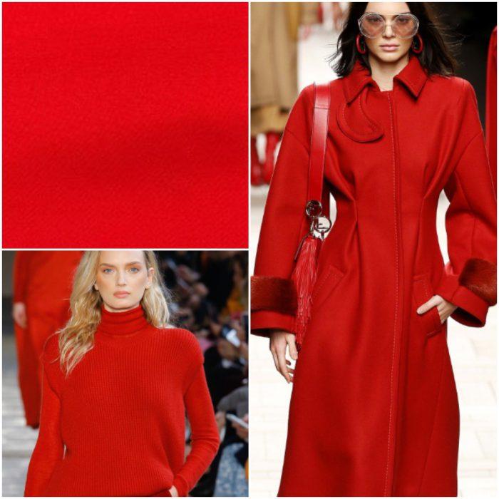 alerta roja Colores de moda invierno 2022
