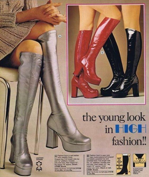 botas de los 70