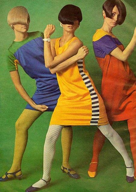 cancan colores anos 60
