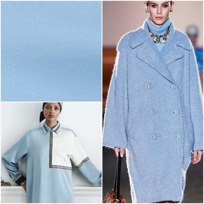 celeste Colores de moda invierno 2022
