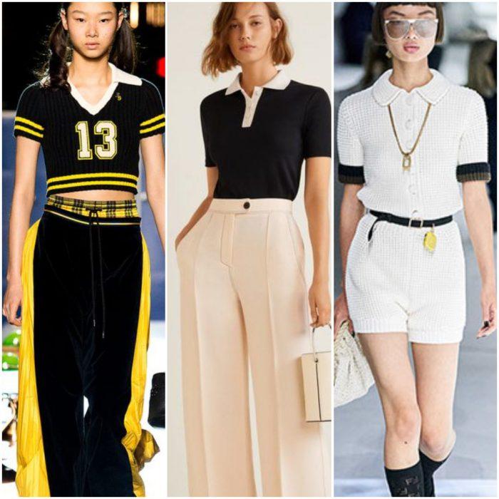 cuellos polos para mujer moda mujer verano 2022 tendencias