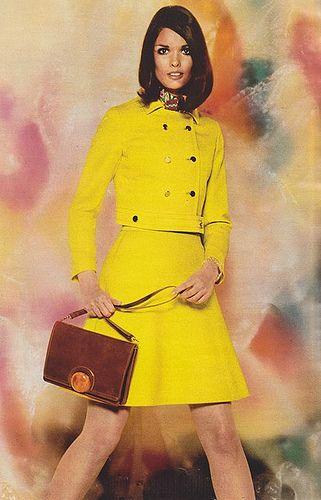 falda corta de los 60
