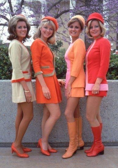 faldas cortas de los 60