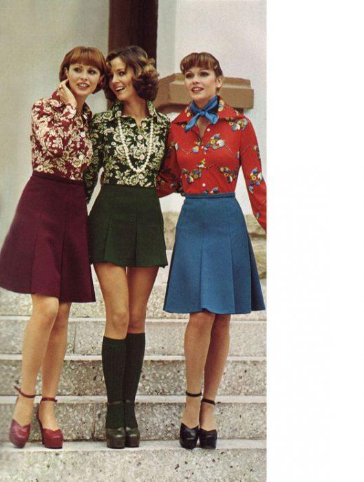 faldas de los 70