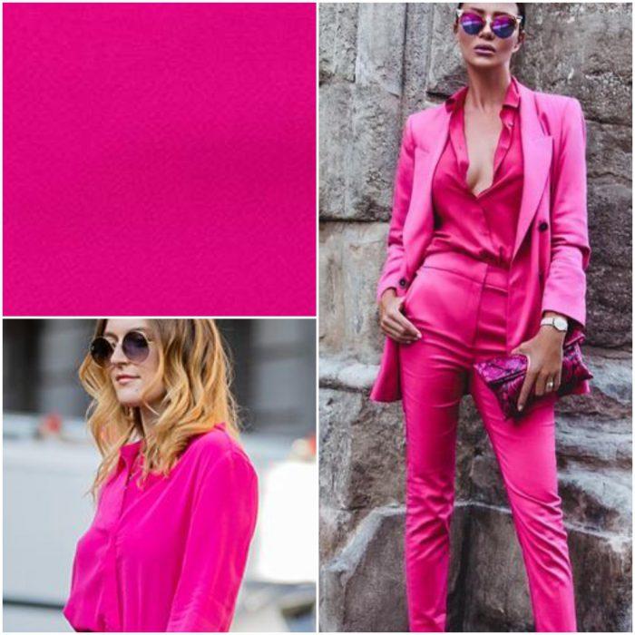 fucsia Colores de moda invierno 2022