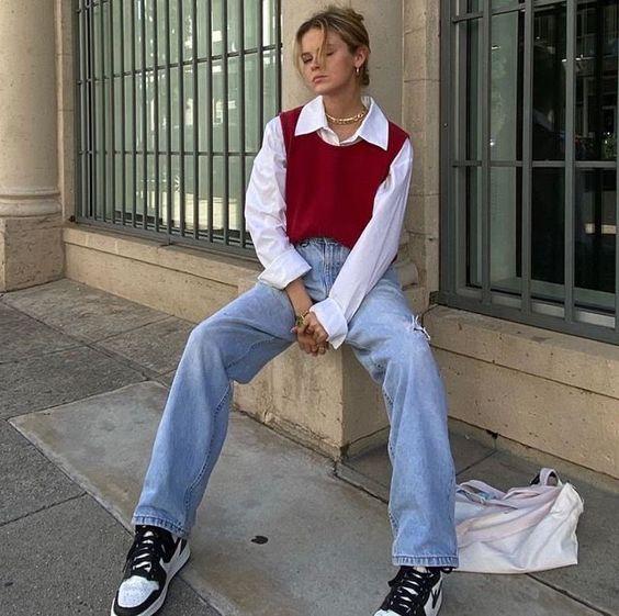 look actual juvenil mujer moda de los 90