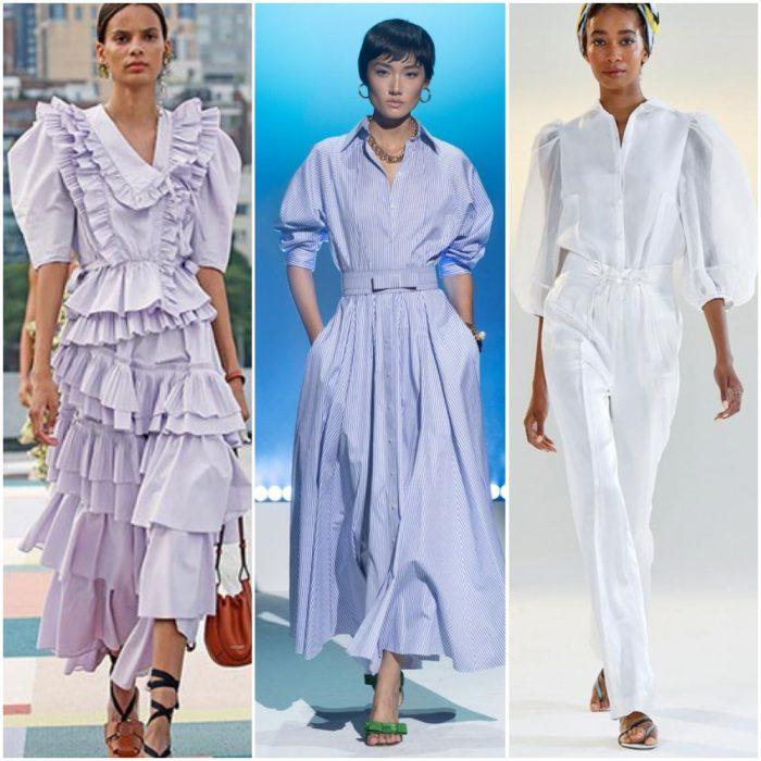 mangas grandes para mujer moda mujer verano 2022 tendencias