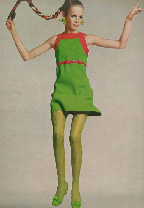 medias de colores anos 60
