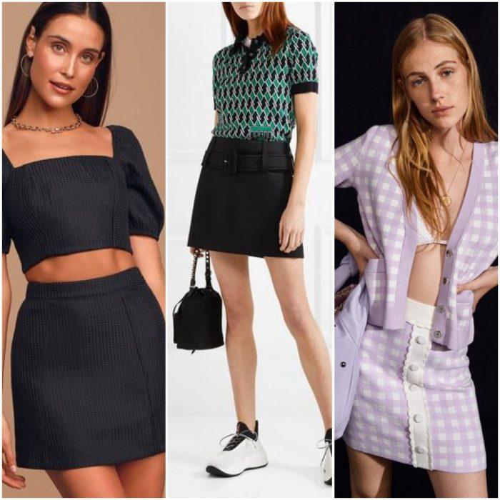 minifalda para mujer moda mujer verano 2022 tendencias