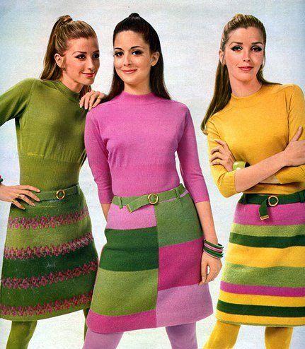 minifaldas anos 60