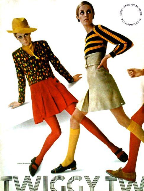 minifaldas de los aos 60