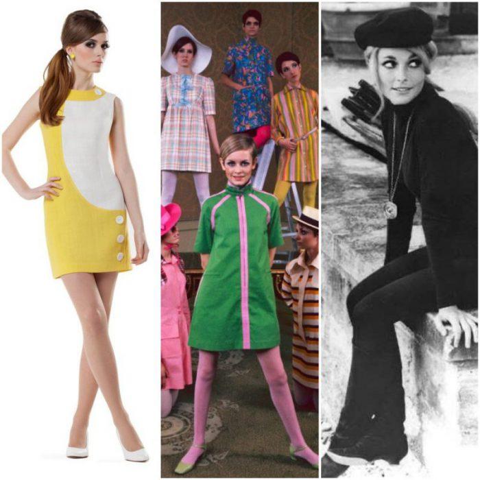 moda de los anos 60 looks