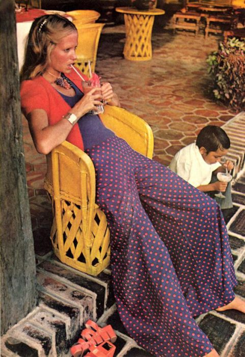 pantalones anchos anos 70