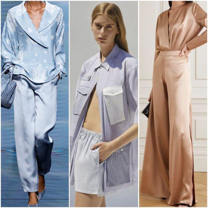 pijamas moda mujer verano 2022 tendencias