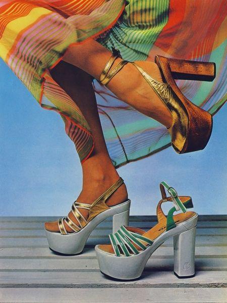 sandalias de los 70