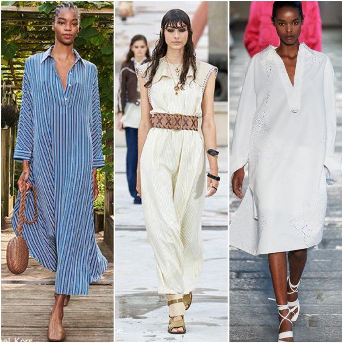 tunicas amplias para mujer moda mujer verano 2022 tendencias