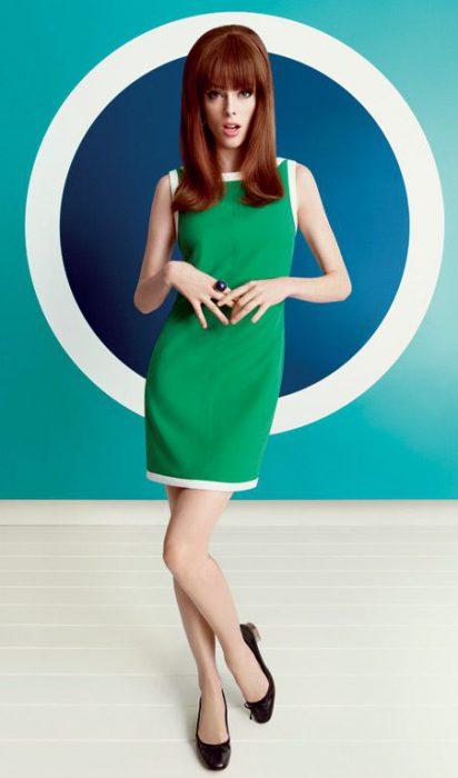 vestidos de los 60