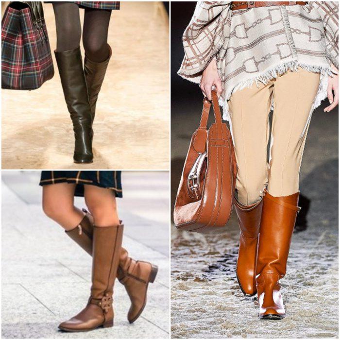 Botas de montar calzado de moda invierno 2022