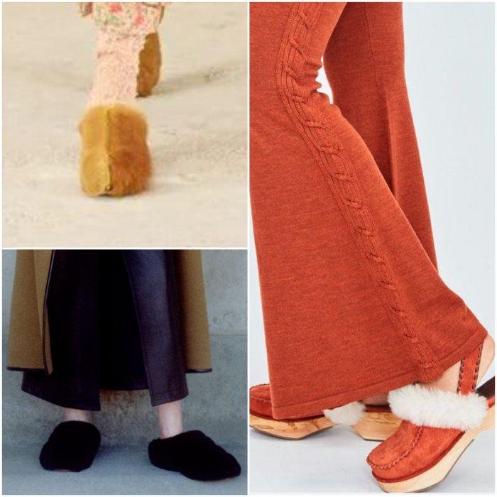 Calzados de pelo sintetico calzado de moda invierno 2022