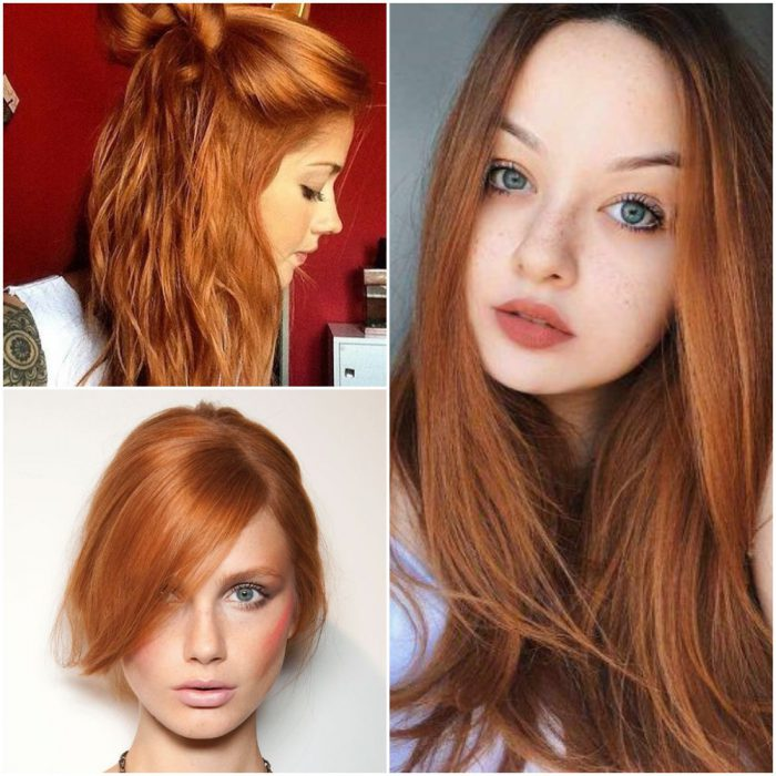 Pelirojo Colores de pelo de moda verano 2022